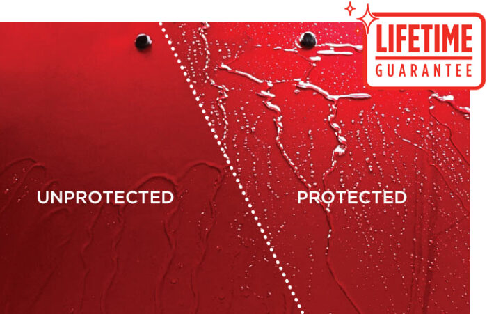 Supagard Protected Paint with Lifetime Guarantee